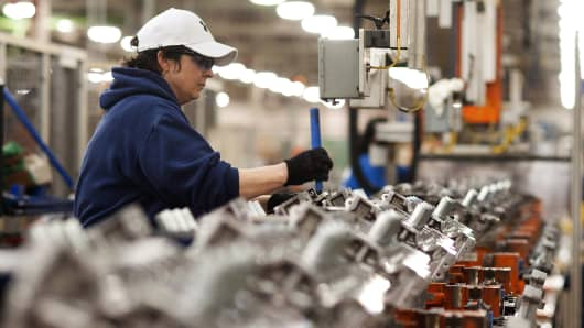 Us manufacturing slows a touch for Ford motor company lima ohio
