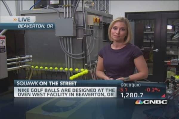 Inside Nike's golf ball laboratory