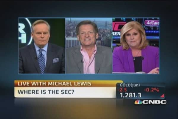 Michael Lewis: There's a Wall Street solution to HFT
