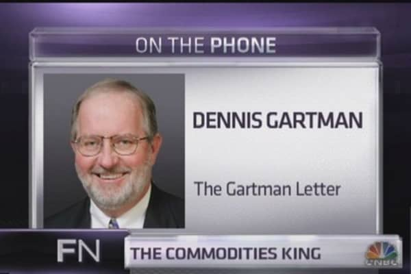Gartman's critical piece of advice