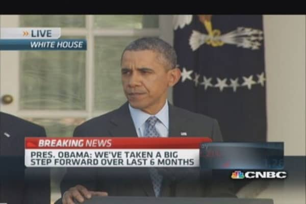 President Obama delivers ACA statement