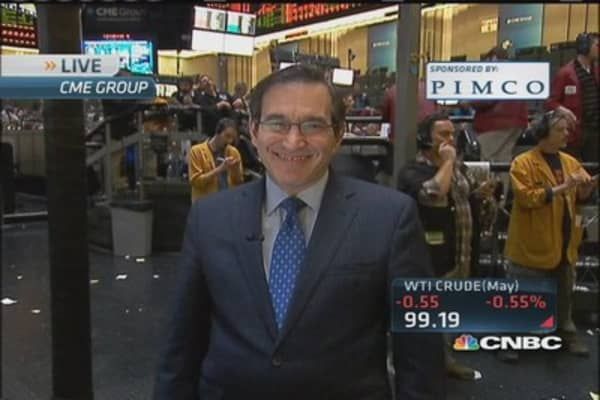Santelli: High yield train has left the station