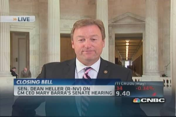 Sen. Heller: Not a good day for GM