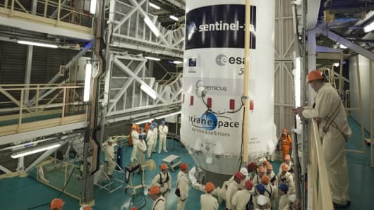 VS07 Soyuz  / Sentinel-1A