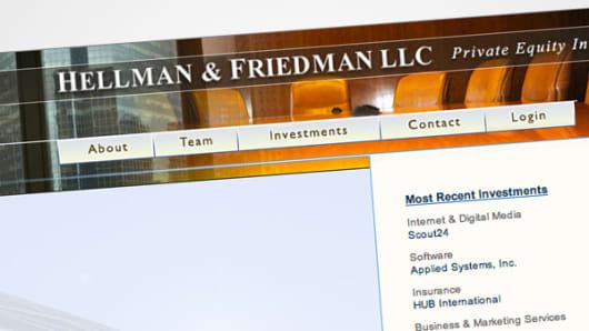 Hellman & Friedman web page