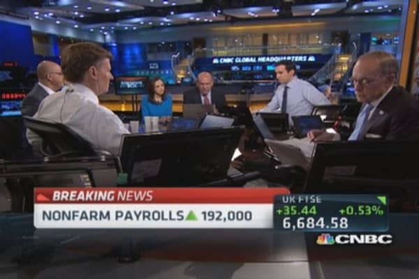 What the jobs numbers mean