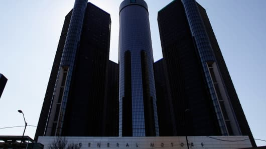 General Motors headquarters, April 1, 2014, Detroit