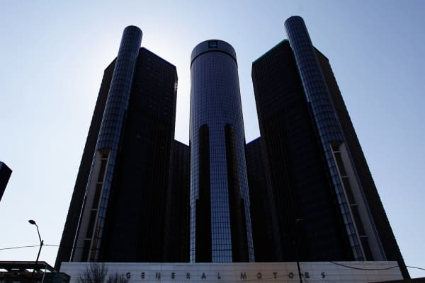 General Motors headquarters, April 1, 2014, Detroit