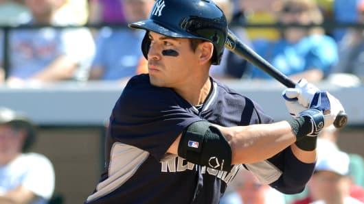 Jacoby Ellsbury of the New York Yankees