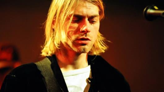Kurt Cobain of Nirvana, 1993