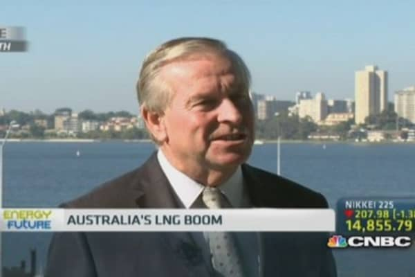 Asia LNG demand growing strongly: Barnett