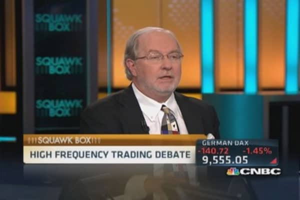 Gartman 'a believer' in high-frequency trading