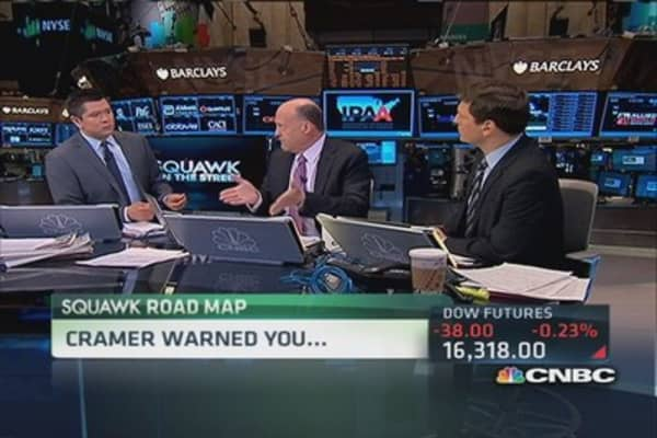 SOTS market roadmap: Cramer warned you