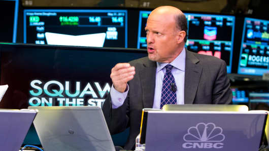 "Jim Cramer on ""Squawk on the Street."""