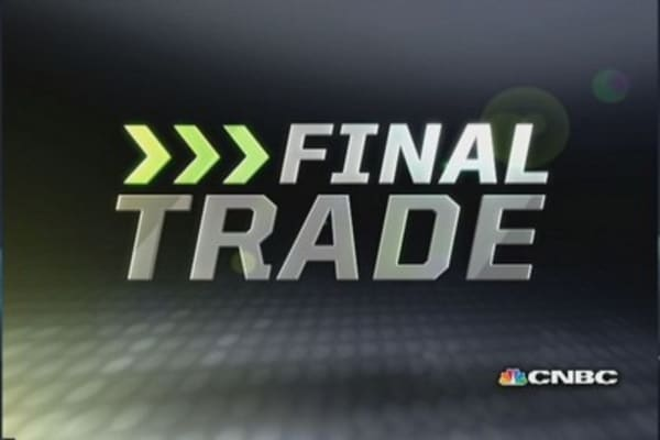 Fast Money Final Trade: BG, GOOG, GGP
