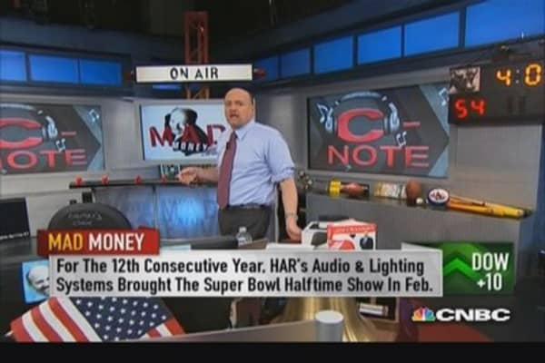 HAR an 'absolute gorilla': Cramer