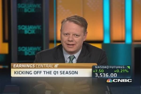 Pro expects lackluster earnings season