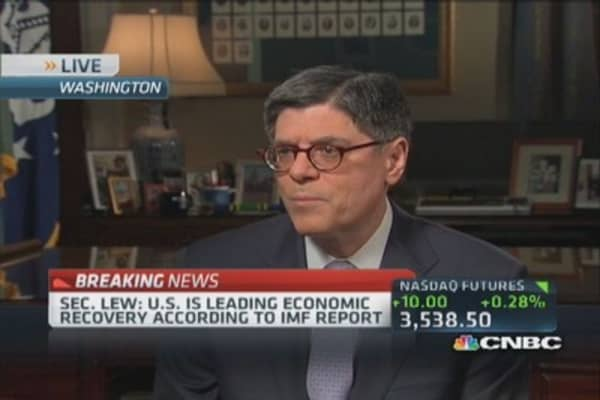 China needs market-determined exchange rate: Lew