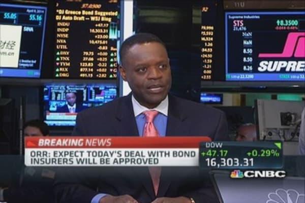 Detroit reaches settlement with bond insurers