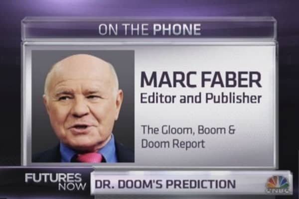 Marc Faber: Coming crash will be worse than 1987