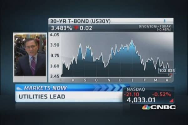Santelli: Vile times in Treasurys