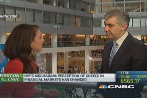 Greece still has way to go: IMF Europe head