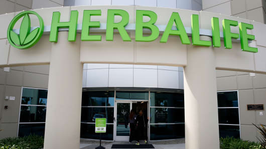 Herbalife Los Angeles distribution center in Carson, California.
