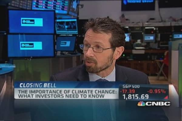 Why investors need to know about climate change