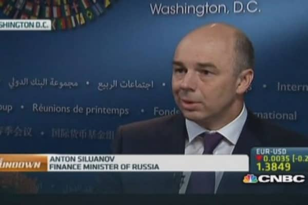 Russia Fin Min: We are 'misrepresented'
