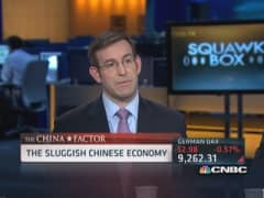 Sluggish Chinese economy