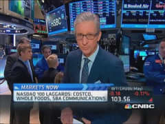 Pisani's market open: Mostly a lot of gainers