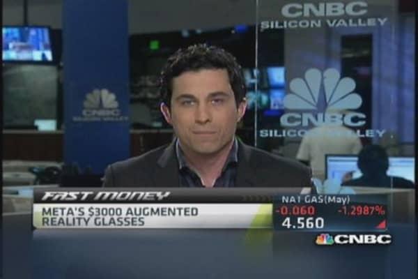 Meta's $3,000 augmented reality glasses