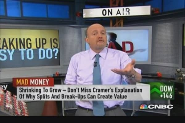 Company spinoffs can create value: Cramer