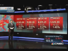 Global markets: European shares lower