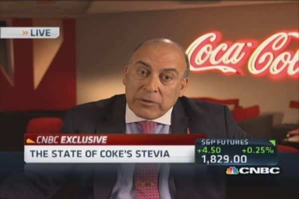 KO's CEO: Aspartame is safe