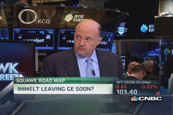 GE's Immelt leaving soon?