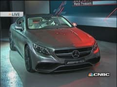 Mystery Mercedes-Benz unveiled