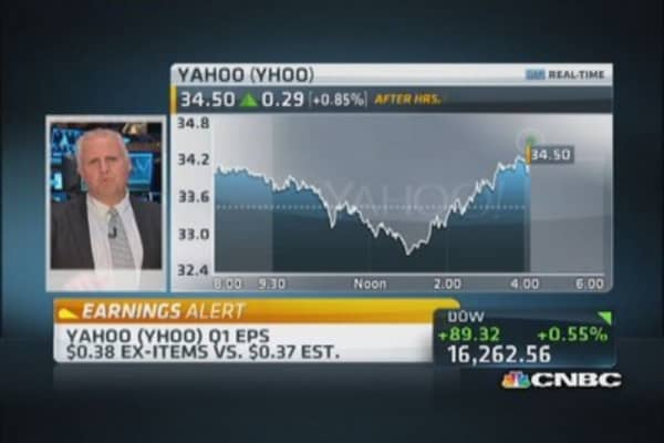 Another push quarter for Yahoo: Pro