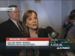 GM's Barra: We will do the right thing for customers