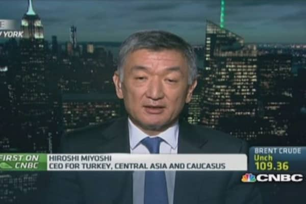 Mitsubishi: Turkey is an attractive market