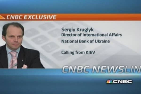 Russian action destabilized Ukraine economy: National Bank