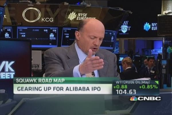Cramer: Sell everything and buy this growth stock