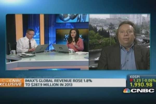 IMAX: Why China slowdown won't hurt us
