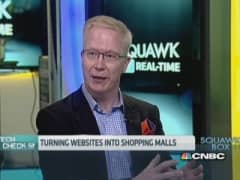 Turning websites into shopping malls