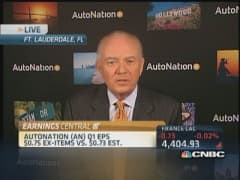 AutoNation 'strange' quarter produces record results: CEO