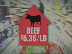Drought hurts meat prices
