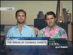 Chubbies 'awesomely fun' retro shorts