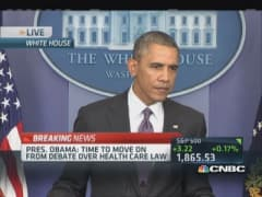 Pres. Obama: Chance diplomacy may ease Ukraine tensions
