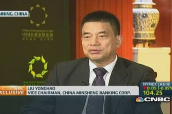 Minsheng Bank: Shadow banking is a challenge for big lenders