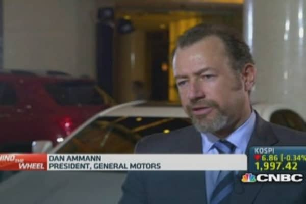 GM: 'Huge opportunity' for Cadillac in China
